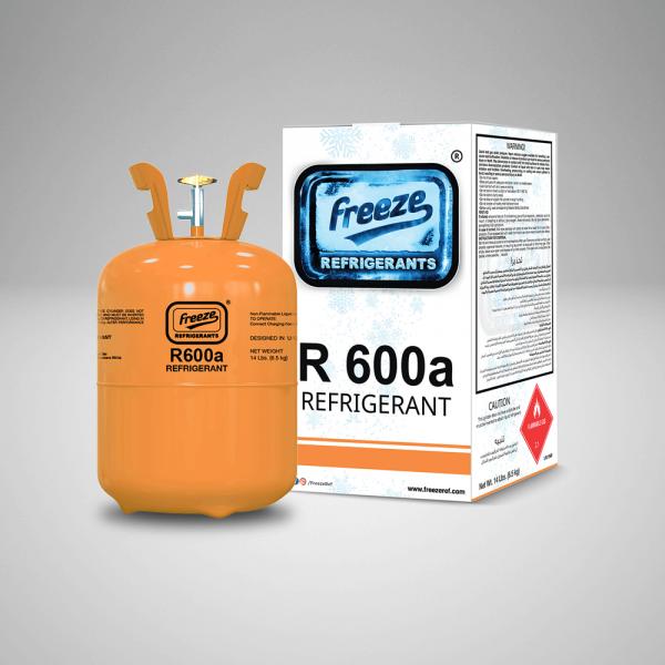 Refrigerant R600a Gas