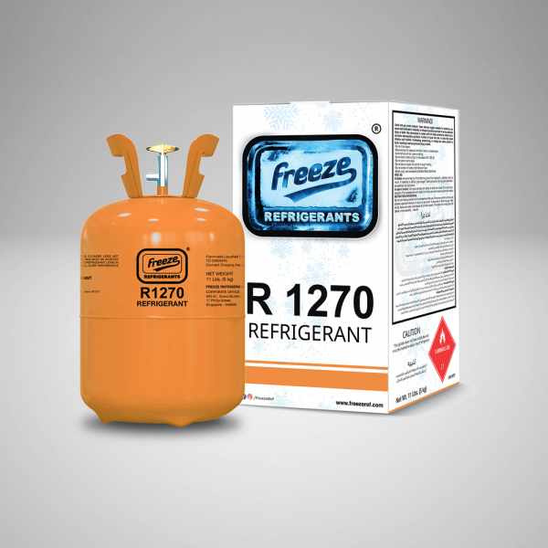 Refrigerant R1270 Gas