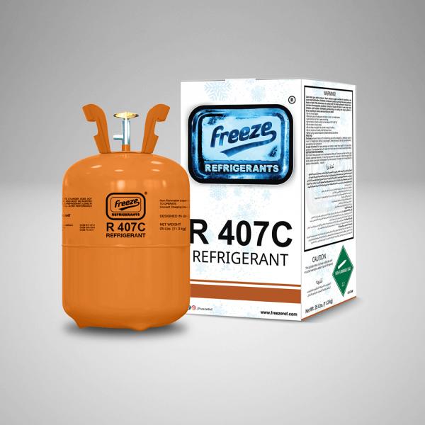 Refrigerant R407C Gas