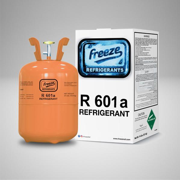 Refrigerant R601a Gas